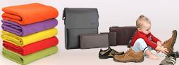 纺织品、皮具及鞋类